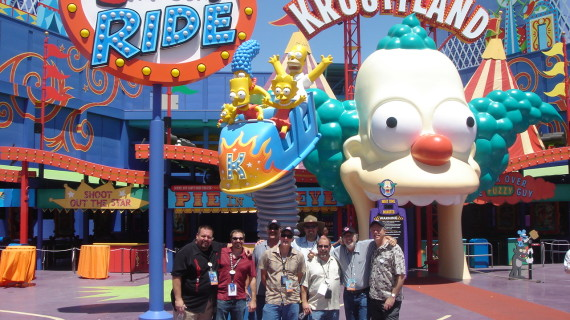 The Simpsons™  Ride