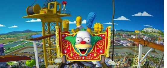 The Simpsons Ride Wins Best New Attraction (2008)