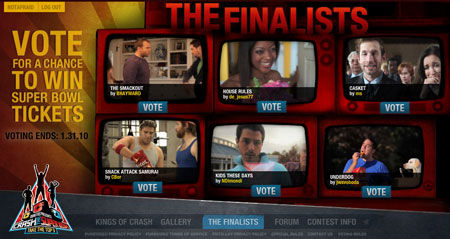 Doritos Finalists