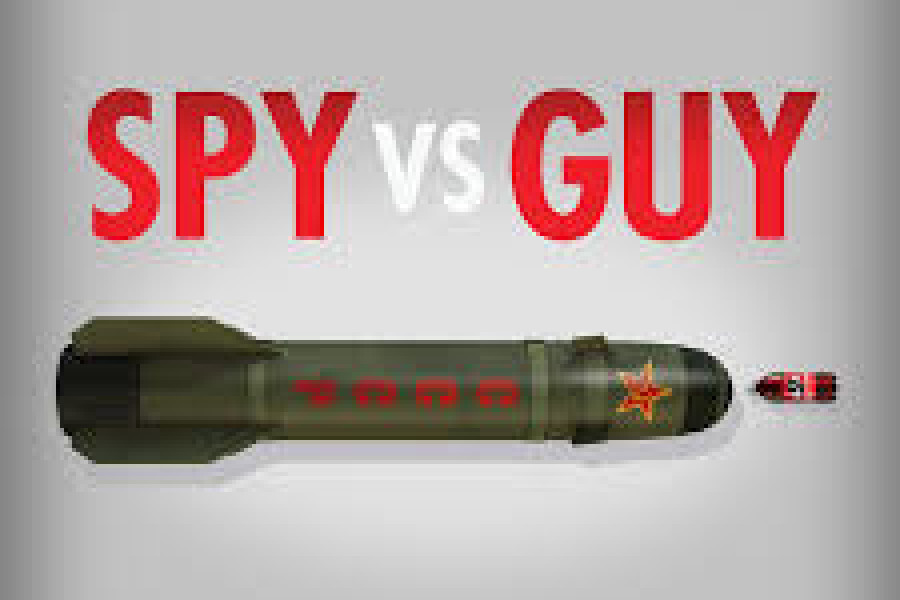 Inspiration: Spy Vs. Guy